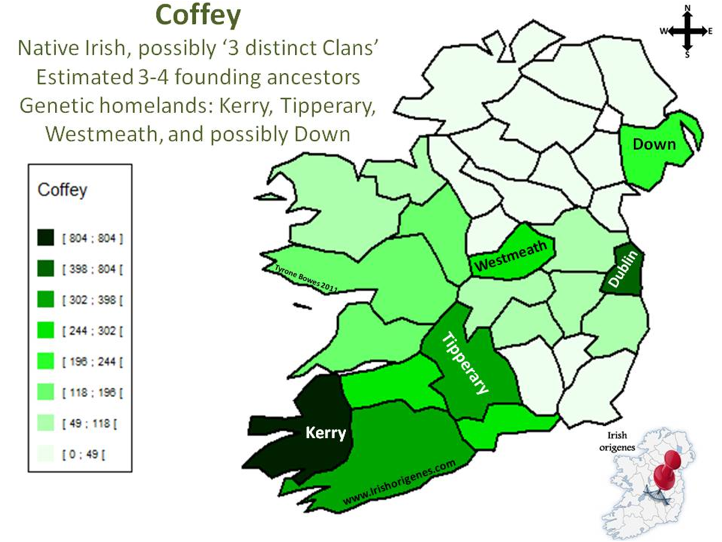 Coffey Families Dna And Irish Origins By Fred Coffey I